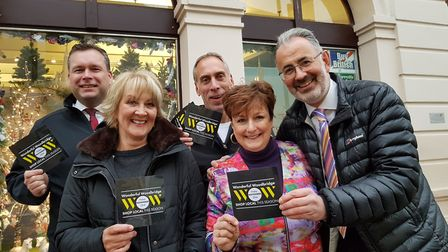 A number of Woodbridge retailers are backing the day Picture: RACHEL EDGE
