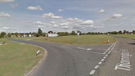 The junction of Thorrington Road and Heckford's Road Picture: GOOGLE MAPS