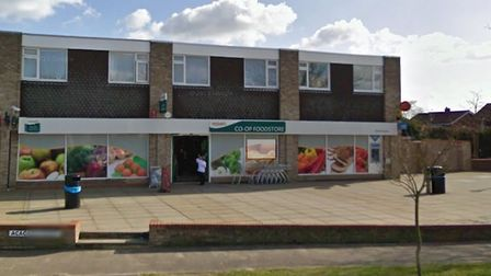 The Co-op in Brantham was targetted by robbers. Picture: GOOGLE