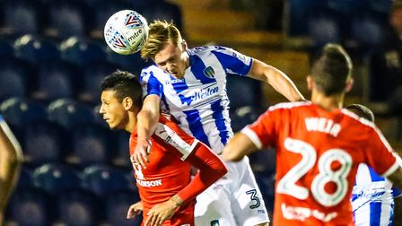 Cameron James, who could be involved against Exeter City tomorrow. James has not made an appearamce