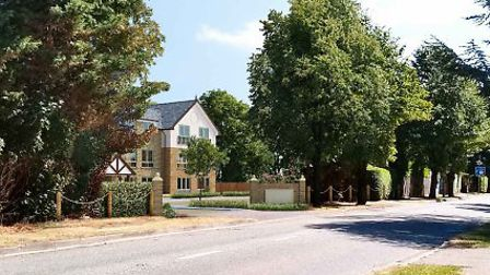 An artist's impression of the proposed care home in Fordham Road Picture: CHURCHGATE