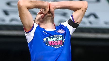 Cole Skuse has suffered a knee injury Picture: STEVE WALLER