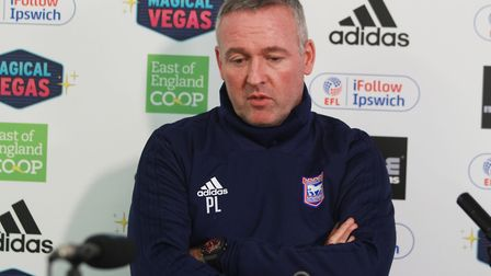 Paul Lambert has committed his future to Town regardless of whether they stay up or go down. Picture
