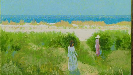 Lionel Bulmer �In the Dunes� - Art dealers Messums are having a pop-up gallery at Snape this weekend