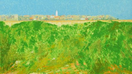 Towards Southwold by Lionel Bulmer - Art dealers Messums are having a pop-up gallery at Snape this w