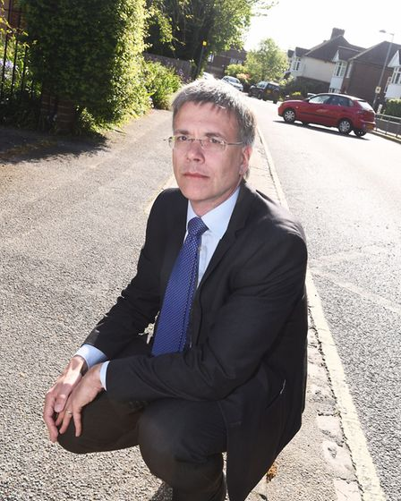 Paul West said Suffolk needed to lead the way for other organisations to cut their own plastics Pict