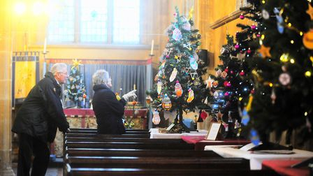 Thurston Library and St Peters Church in Thurston are hosting a Christmas tree festival. Picture: G
