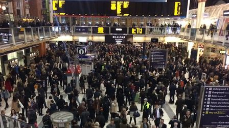Chaos on the trains at London Liverpool Street - Greater Anglia are promising change but commuters a