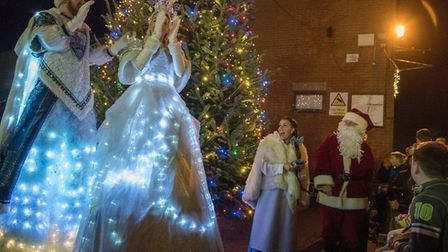 Leiston on Ice is psart of this year's festive attractions. Photo: Lucy Halpin Photography