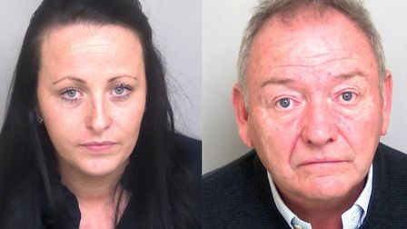 Lucy Palmer and Paul Masters were jailed for conning victims out of thousands of pounds Picture: ESS