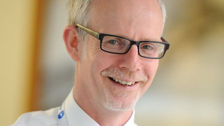 Stephen Dunn of West Suffolk Hospital NHS Foundation Trust. Picture: Contributed