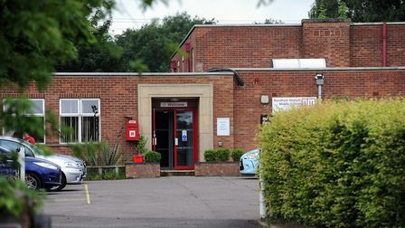 The former Needham Market Middle School,where plans have been lodged for new homes Picture: GREGG BR