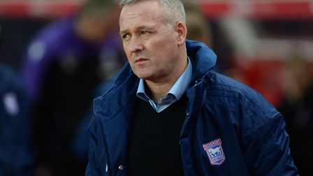 Ipswich Manager Paul Lambert back in Stoke on Saturday. Picture Pagepix