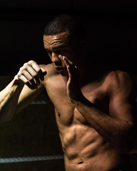 Fabio Wardley will fight at the O2 Arena on December 22. Picture: STEVE WALLER