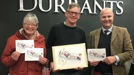 Estate agents Durrants is supporting the Clinks Care Farm charity with Christmas cards this year. f