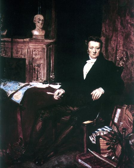 Portrait of Thomas Clarkson, seated in his study Photo: Kingston Upon Hull City Museums.