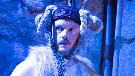 James MacNaughton plays the goat in The Fenland Screamers and Other Boggy Tales, this year's Eastern