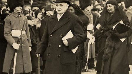 George Lansbury at the funeral of George V in 1936. Picture Wikimedia Commons