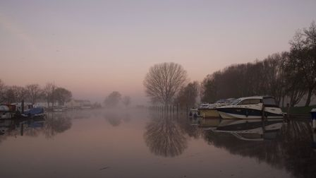 Beccles in the mist Picture: JANE GEORGE