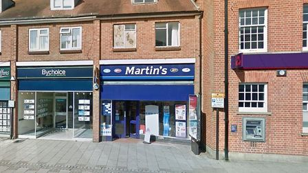 Police are investigating a burglary at Martyin's newsagents in Haverhill Picture: GOOGLEMAPS