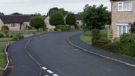The incident happened in Wragg Drive, Newmarket Picture: GOOGLE MAPS