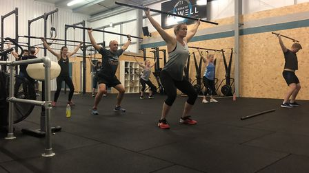 Get fit and learn new skills at CrossFit Orwell PICTURE: CrossFit Orwell