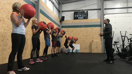 Improve your health and fitness at CrossFit Orwell PICTURE: Archant