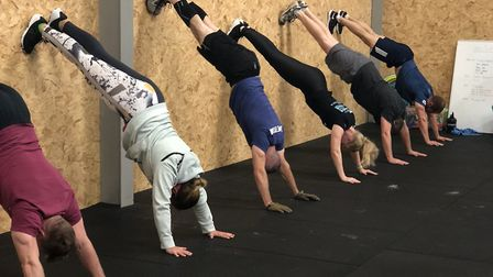 Classes are suitable for all ages and abilities PICTURE: CrossFit Orwell