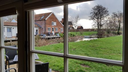 All four homes are dog friendly. Picture: RACHEL EDGE