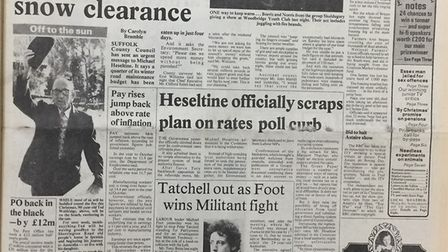 EADT Front Page 1981