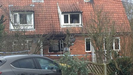 Clive Connolly died in the house fire in Yoxford on December 15 Picture: ANDREW PAPWORTH