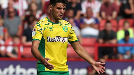 Ipswich Town have been linked with a loan move for Norwich's Ben Marshall. Picture: FOCUSIMAGES
