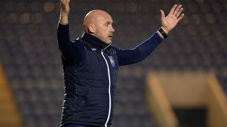 U's boss John McGreal. Picture: PAGEPIX