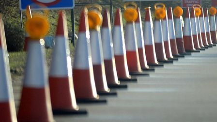 Find out how to avoid the traffic this week with our roadworks roundup Picture: ALEX FAIRFUL