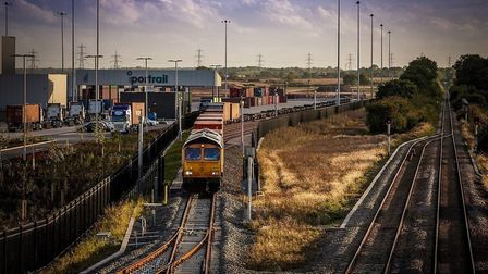 iPort, believed to be the UK's most advanced logistics park Picture: ROSS VINCENT