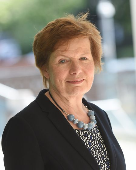 Deputy council leader Mary Evans. Picture: GREGG BROWN