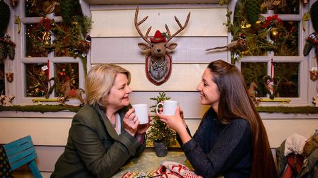 Enjoy tea and cake at the pop-up cafe in the Rougham estate this winter Picture: Tom Soper