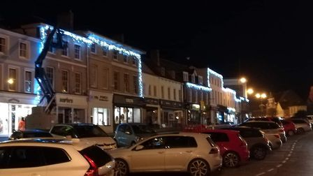 The Boots store in Sudbury which is about to have Christmas lights put up round the building. Pictur