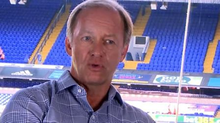 Paul Lambert spoke with Marcus Evans on Monday. Picture: IPSWICH TOWN YOUTUBE