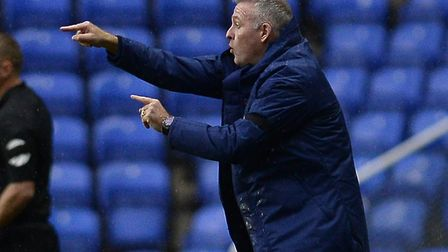 Ipswich manager Paul Lambert is pleased with what he's seen from his players so far. Picture Pagepix