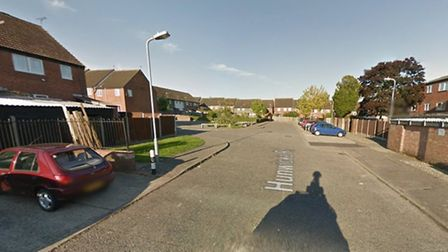 The fire took place on Hunwicke Road in Colchester Picture: GOOGLE MAPS