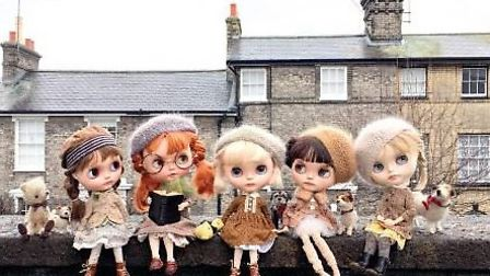 The Little Mischiefs and the Gang Picture: DOLLY TREASURES