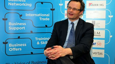 Waveney MP Peter Aldous supports action against larger firms delaying payments Picture: DAVID GARRAD