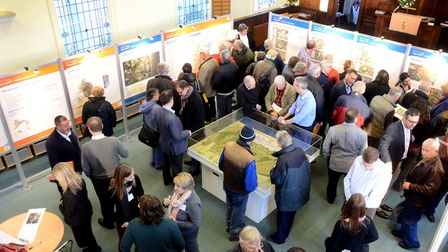 Sizewell C Stage One exhibition. Picture: EDF