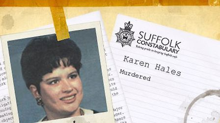 The Karen Hales murder case was one of the biggest in the history of Suffolk Constabulary