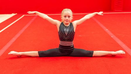 Heidi Jones is one of ther many talented young gymnasts who train in Colchester. Picture: PAVEL KRIC