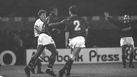 In 1989, David Gregory scored a hat-trick as Town knocked Watford out of the League Cup