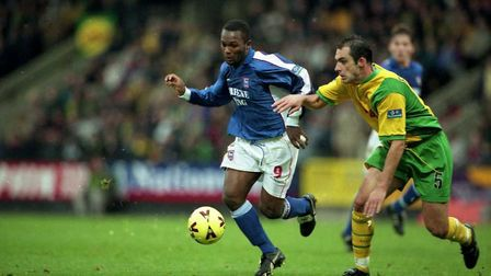 Town were held to a goaless draw at Norwich in 1999