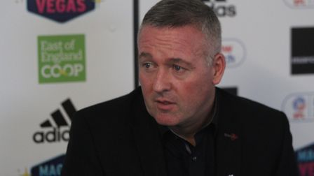 Paul Lambert will speak to the media this afternoon Picture: ROSS HALLS