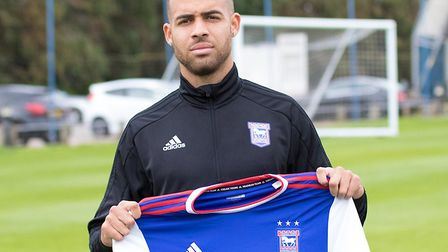 Jordan Graham's loan at Ipswich Town is set to be cut short in January. Picture: ITFC